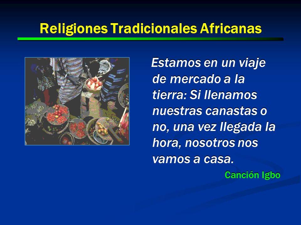 Religiones Tradicionales Africanas
