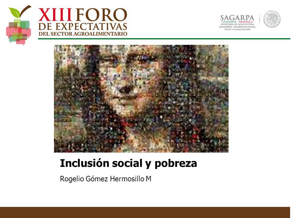 Inclusión social y pobreza