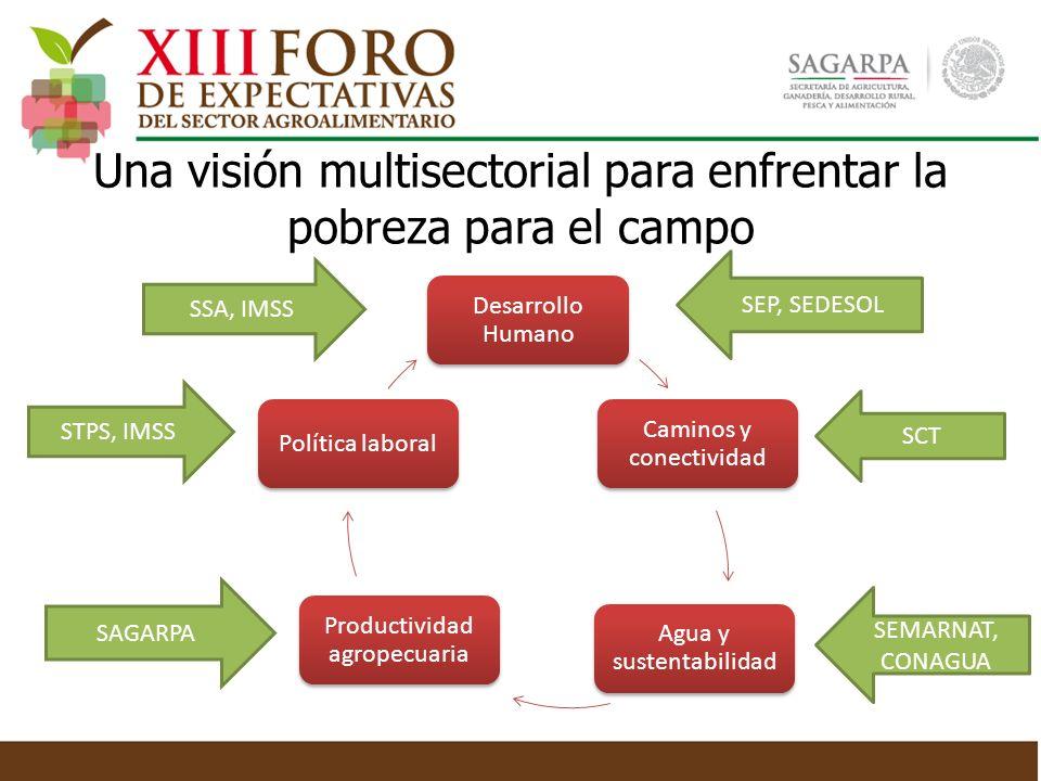 Una visión multisectorial para enfrentar la pobreza para el campo
