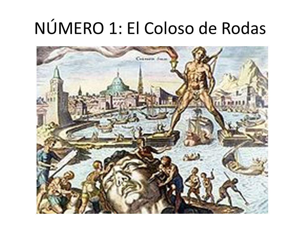 NÚMERO 1: El Coloso de Rodas