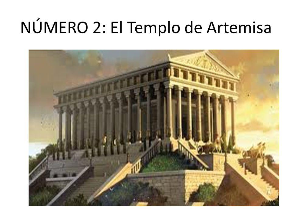 NÚMERO 2: El Templo de Artemisa