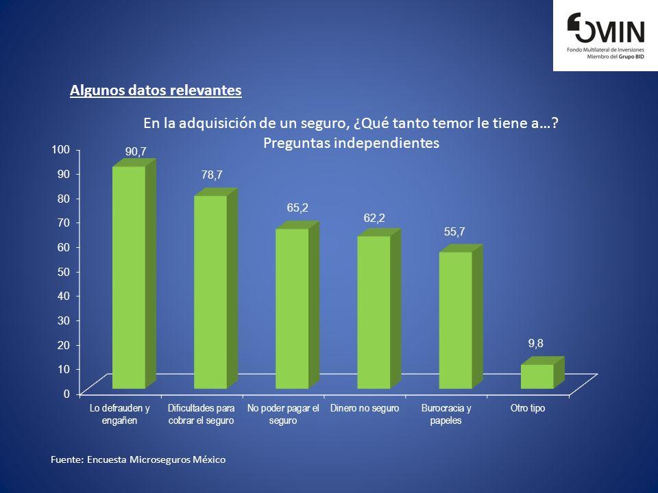 Algunos datos relevantes