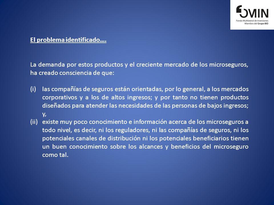 El problema identificado….