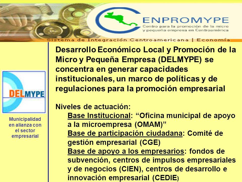 Municipalidad en alianza con el sector empresarial