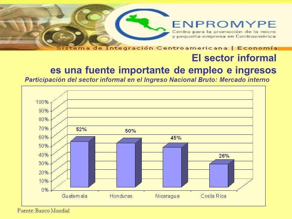 es una fuente importante de empleo e ingresos