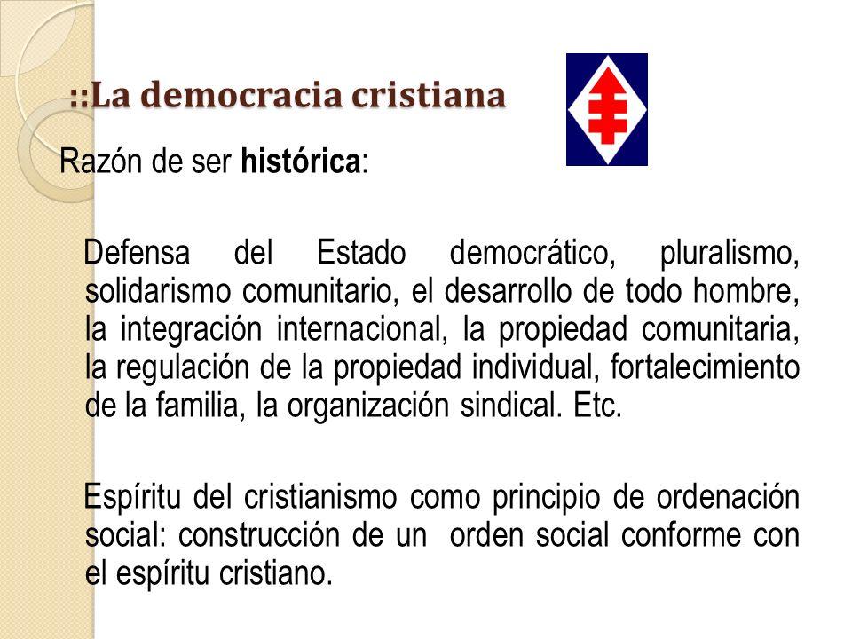 ::La democracia cristiana
