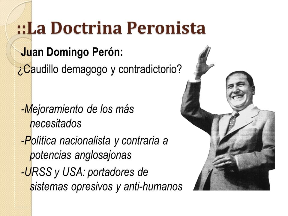 ::La Doctrina Peronista