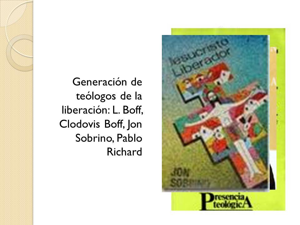 Generación de teólogos de la liberación: L