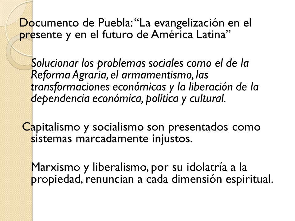 Documento de Puebla: La evangelización en el presente y en el futuro de América Latina