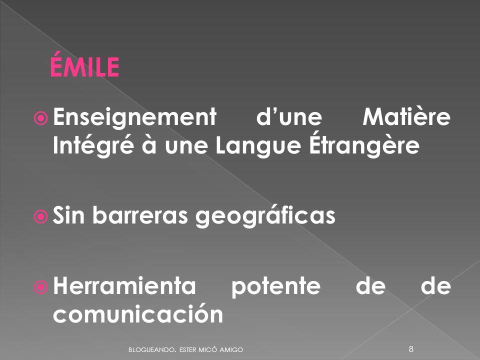 ÉMILE Enseignement d'une Matière Intégré à une Langue Étrangère