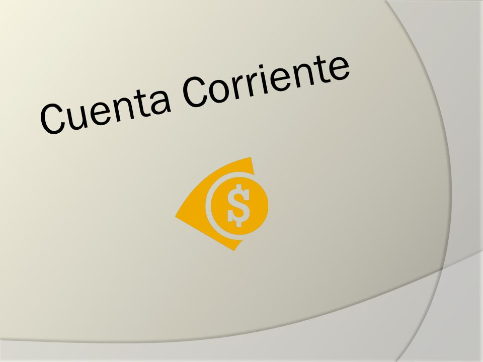 Cuenta Corriente