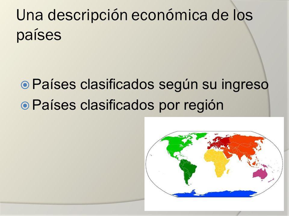 Una descripción económica de los países