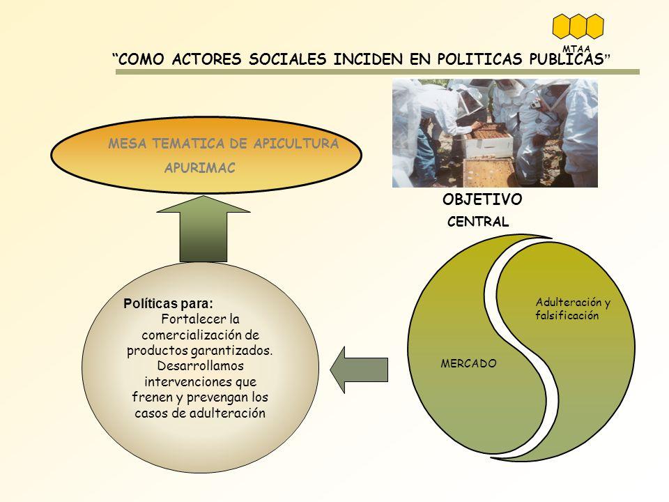 COMO ACTORES SOCIALES INCIDEN EN POLITICAS PUBLICAS