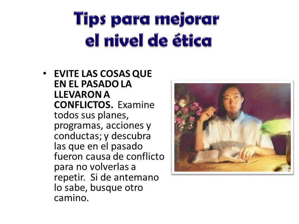 Tips para mejorar el nivel de ética