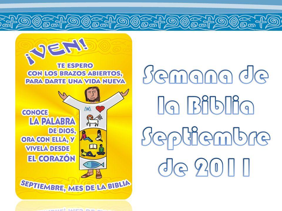 Semana de la Biblia Septiembre de 2011