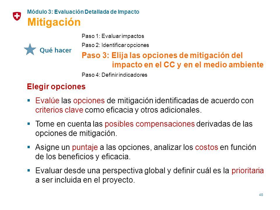 Módulo 3: Evaluación Detallada de Impacto