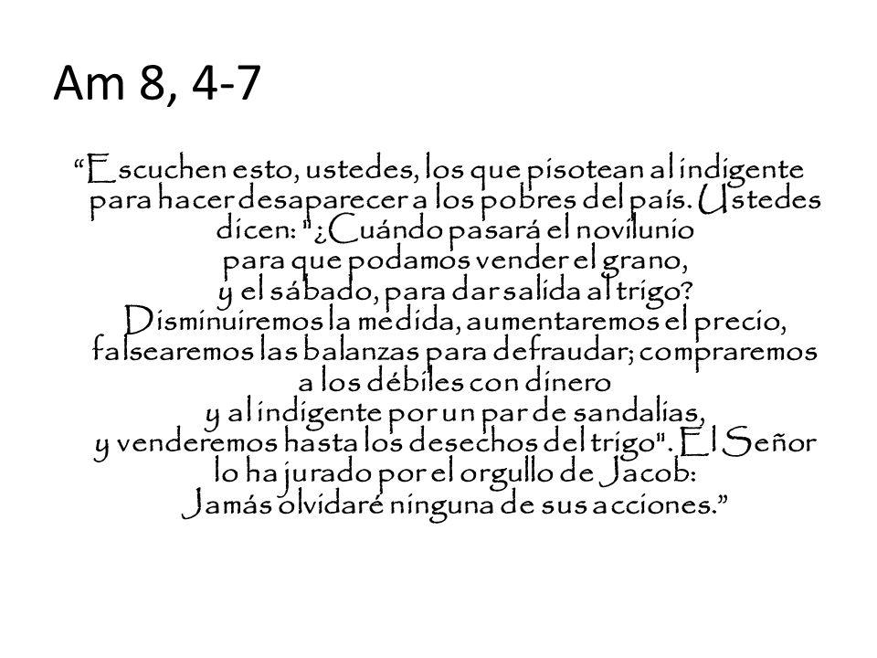 Am 8, 4-7