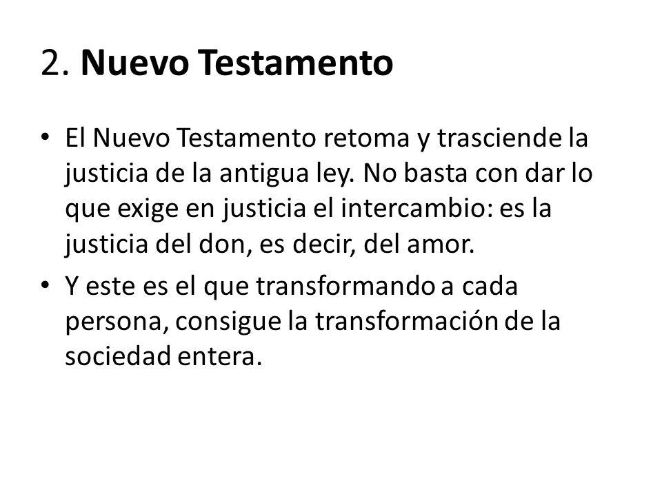2. Nuevo Testamento