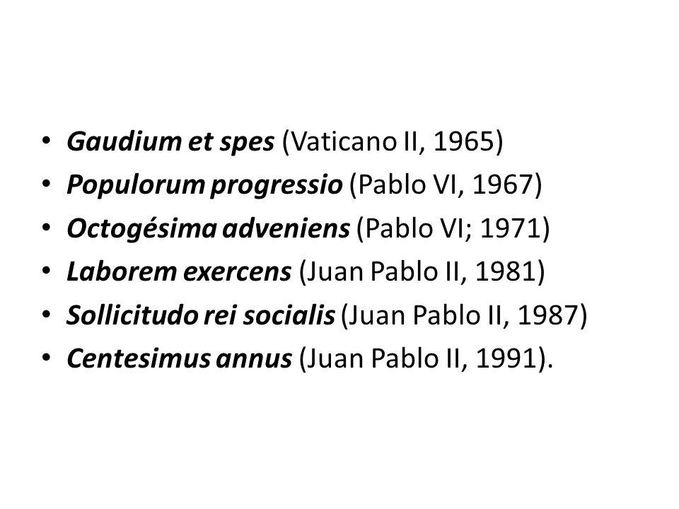 Gaudium et spes (Vaticano II, 1965)