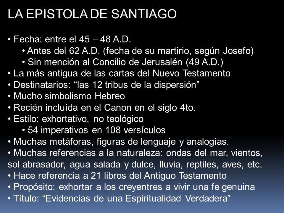 LA EPISTOLA DE SANTIAGO