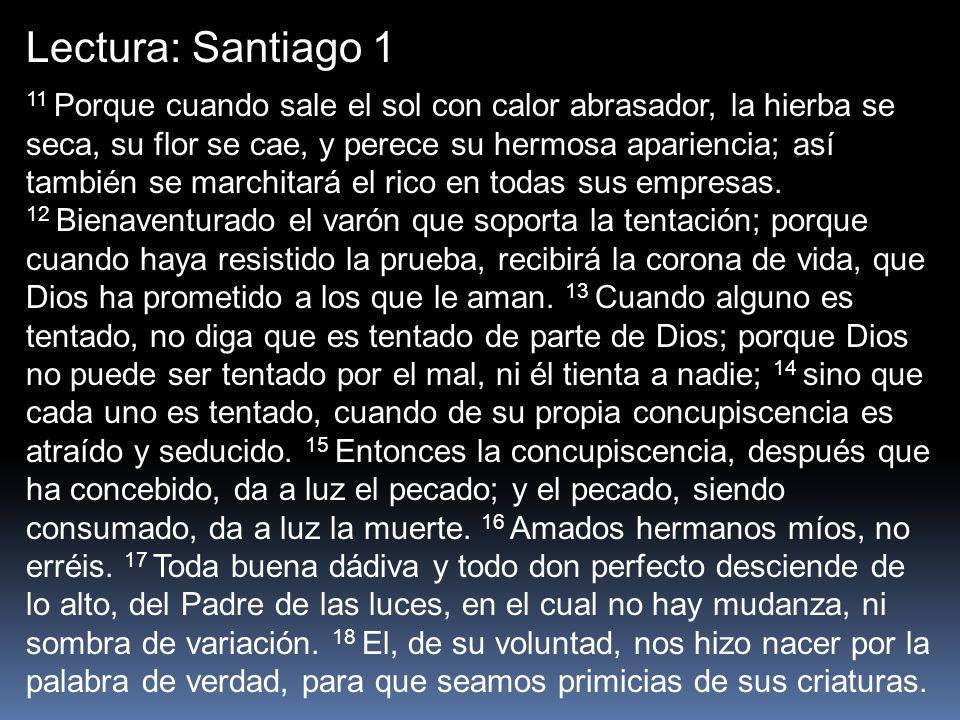 Lectura: Santiago 1
