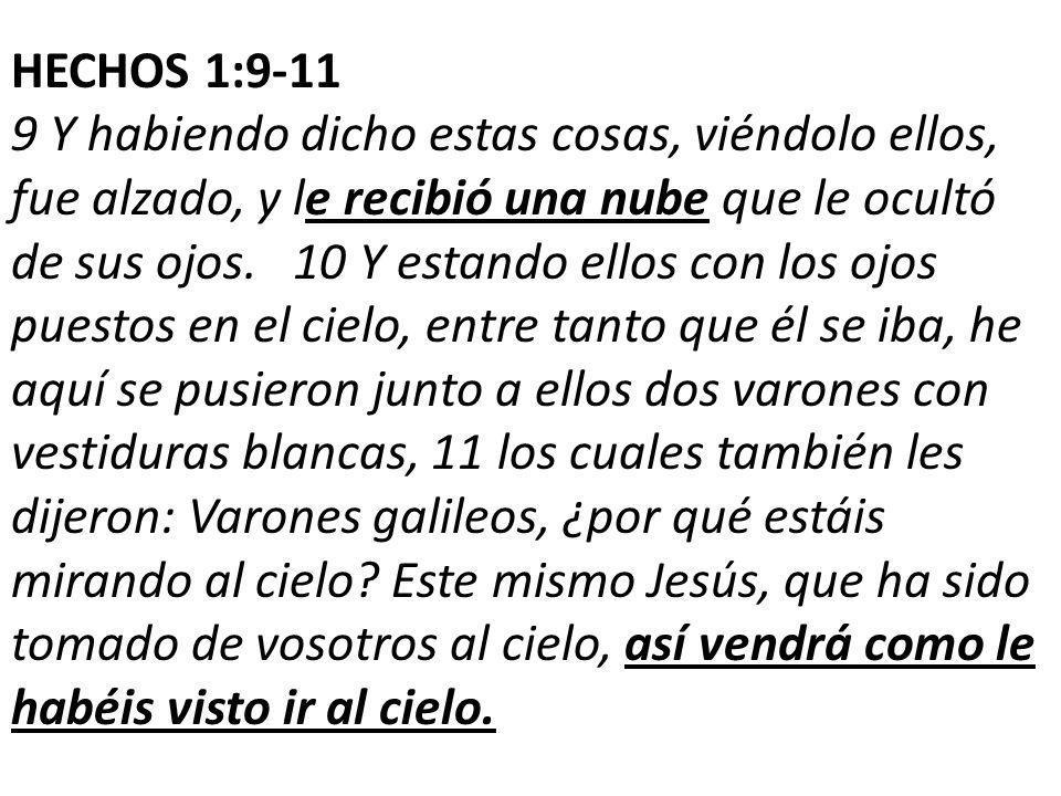 HECHOS 1:9-11