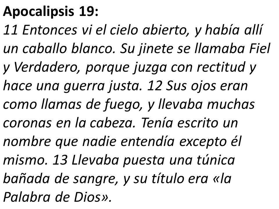 Apocalipsis 19: