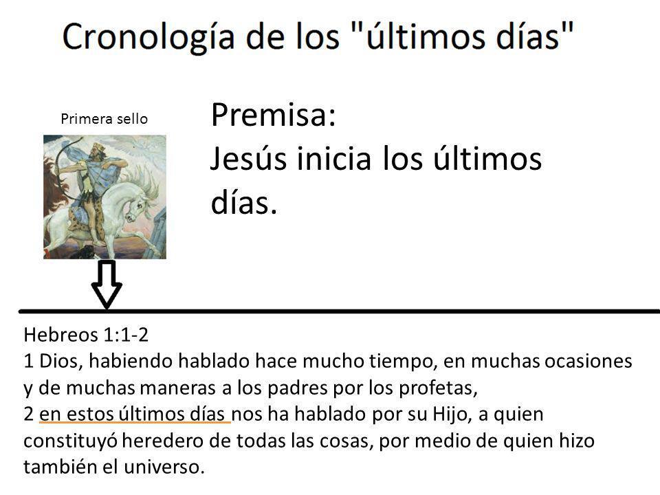 Jesús inicia los últimos días.