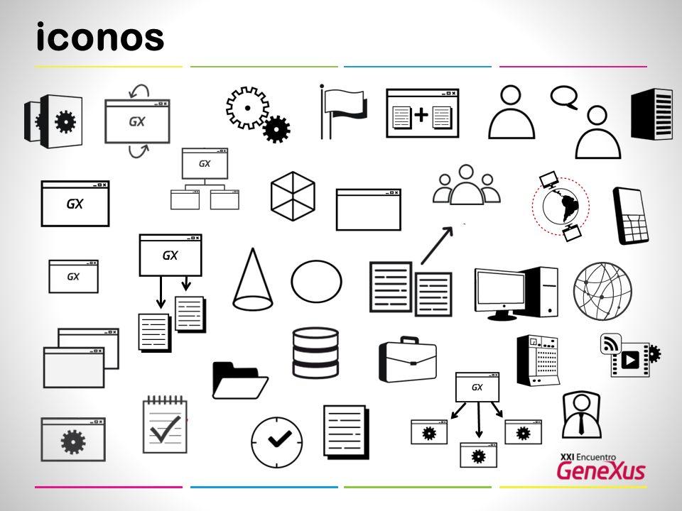 iconos +