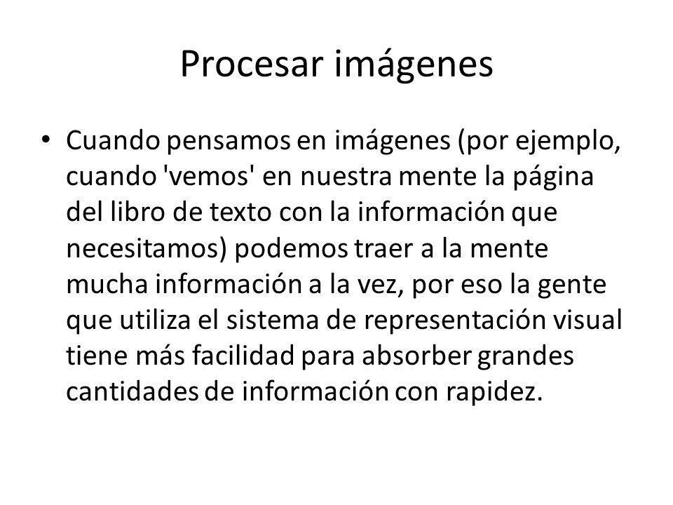 Procesar imágenes