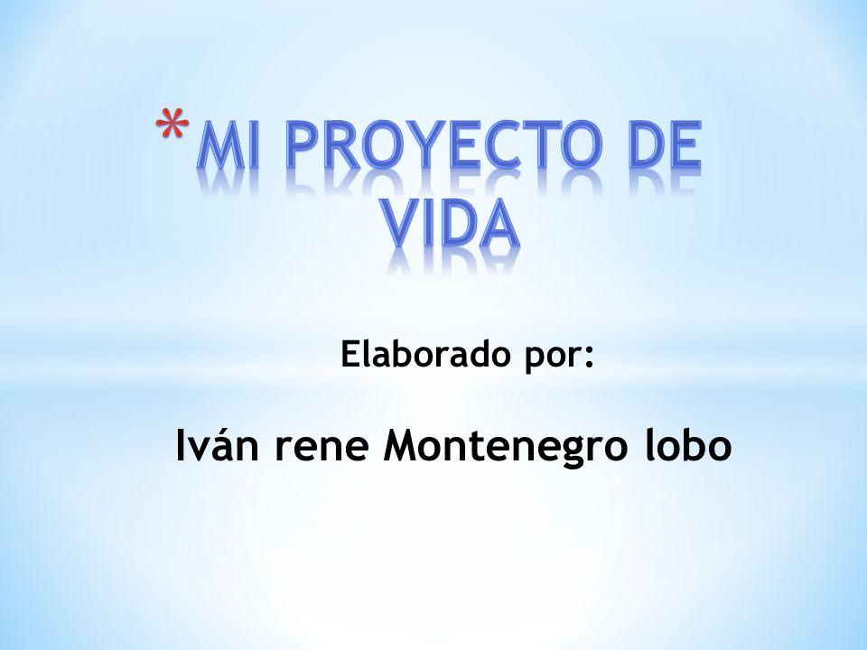 Elaborado por: Iván rene Montenegro lobo