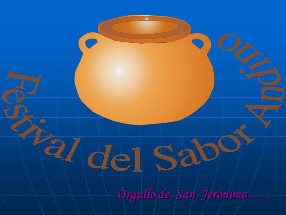 FESTIVAL DEL Orgullo de San Jerónimo . . .