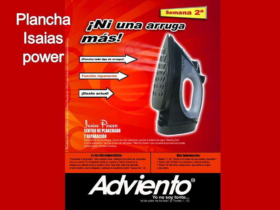 Plancha Isaias power