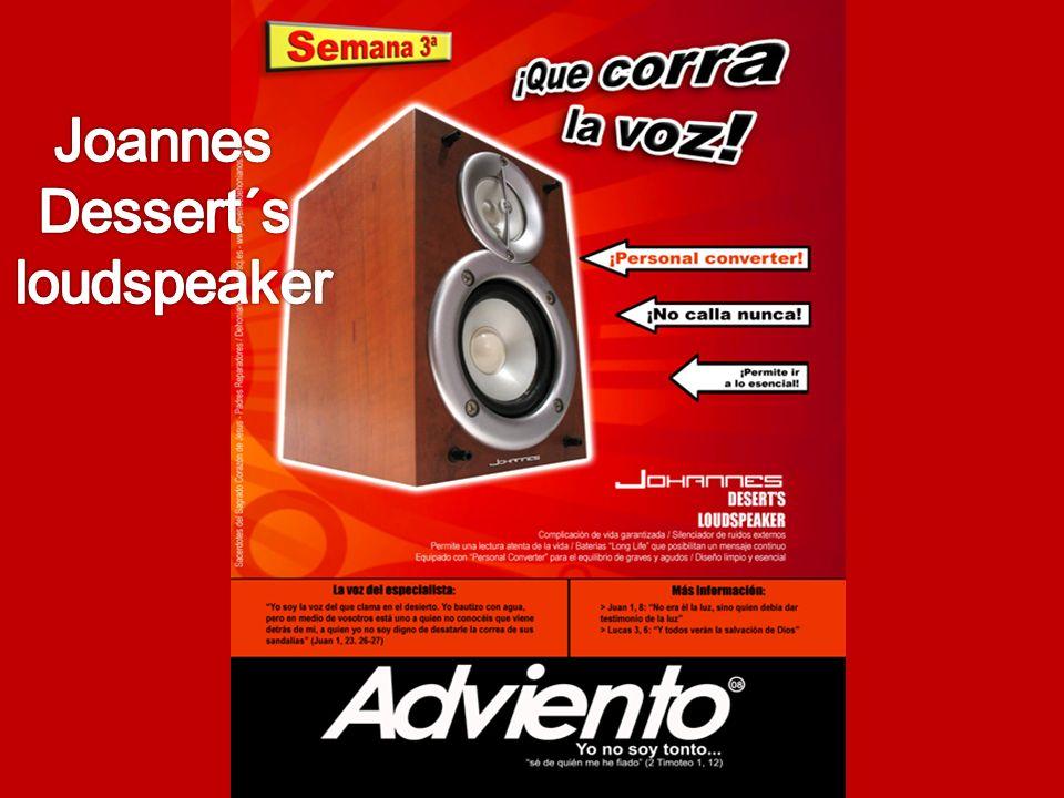 Joannes Dessert´s loudspeaker