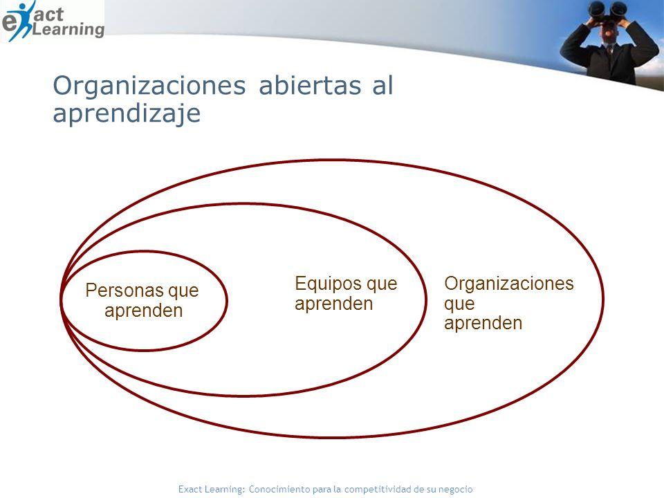 Organizaciones abiertas al aprendizaje