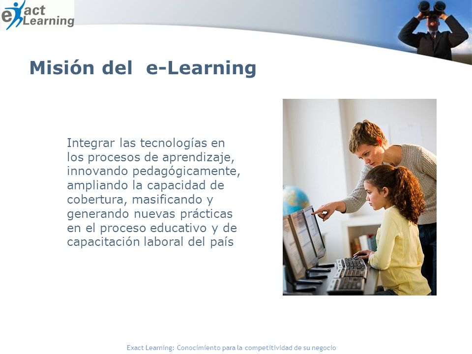 Misión del e-Learning