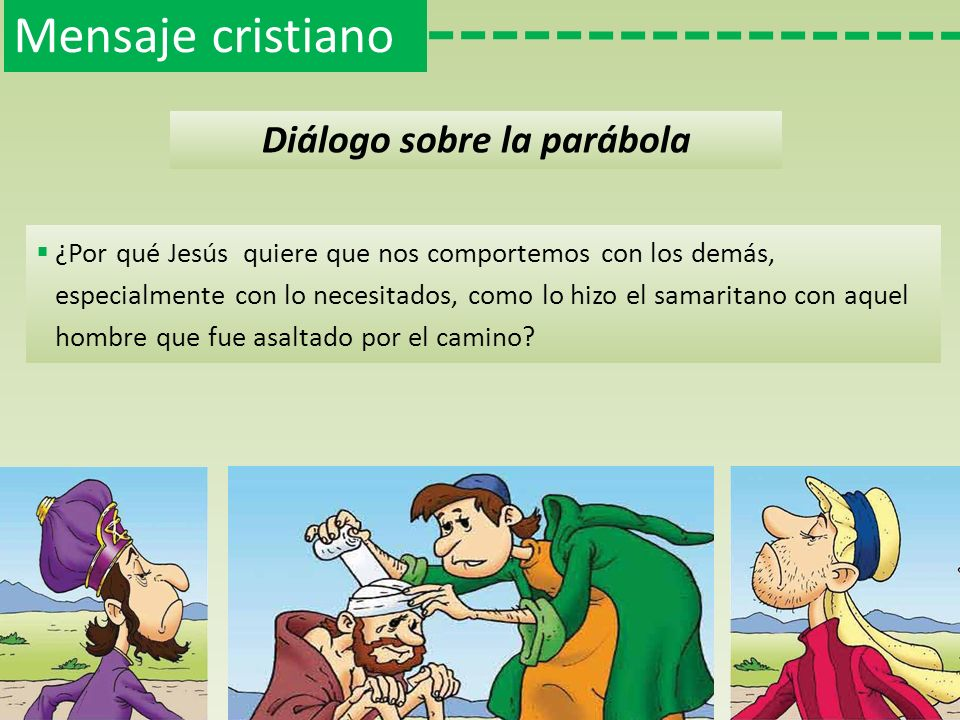 Diálogo sobre la parábola