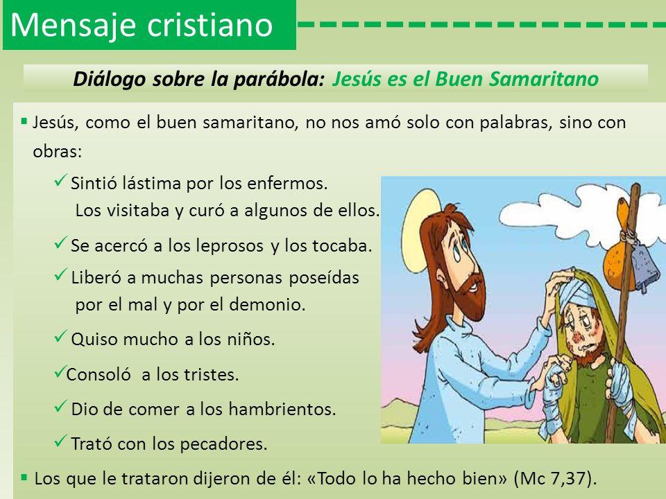 Diálogo sobre la parábola: Jesús es el Buen Samaritano