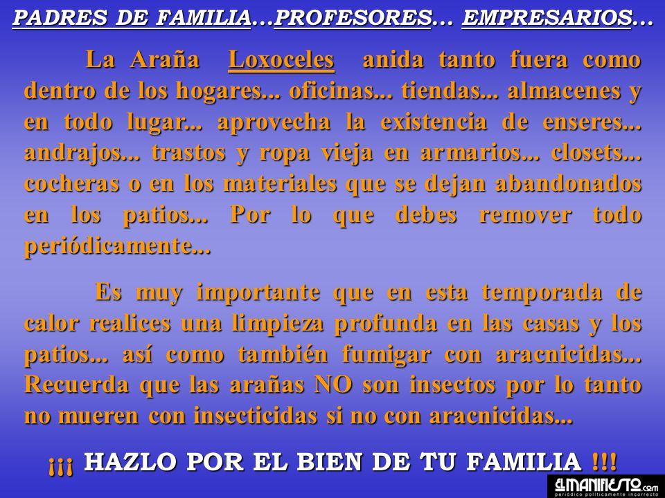 PADRES DE FAMILIA...PROFESORES... EMPRESARIOS...