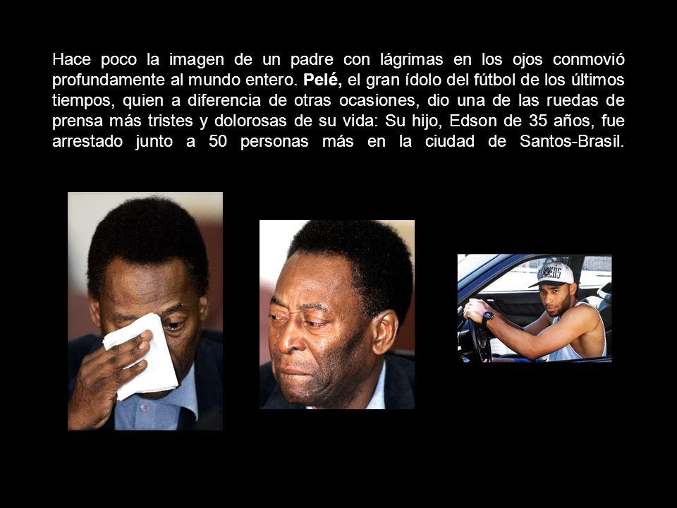 Hace poco la imagen de un padre con lágrimas en los ojos conmovió profundamente al mundo entero.