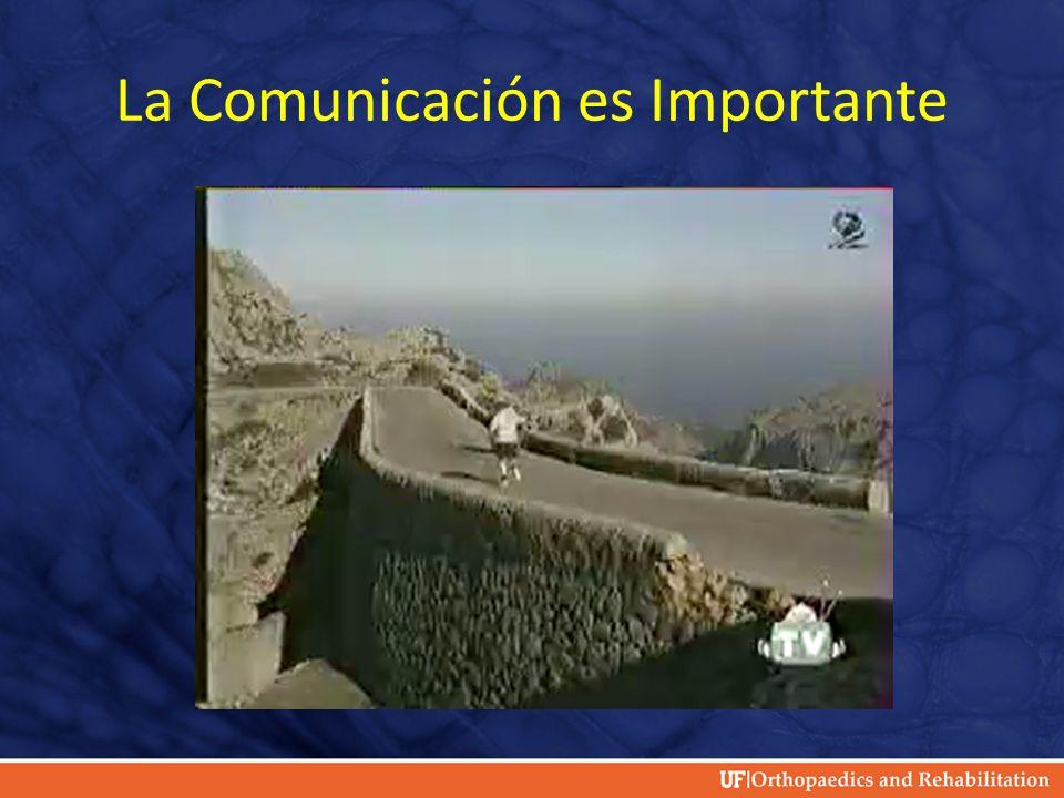La Comunicación es Importante