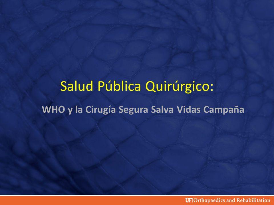 Salud Pública Quirúrgico: