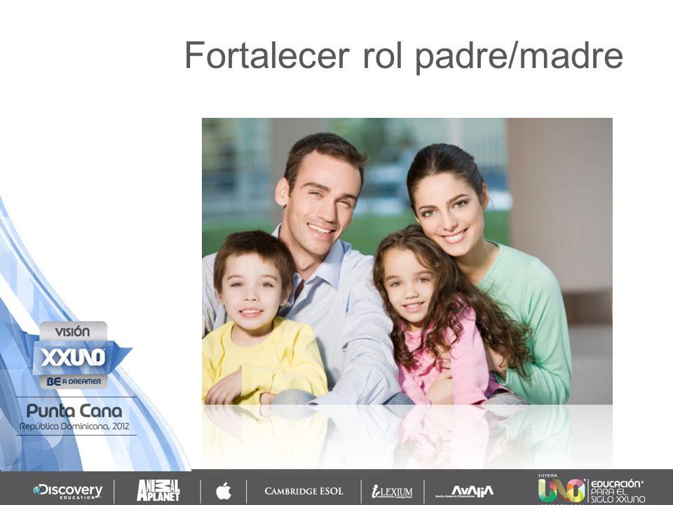 Fortalecer rol padre/madre