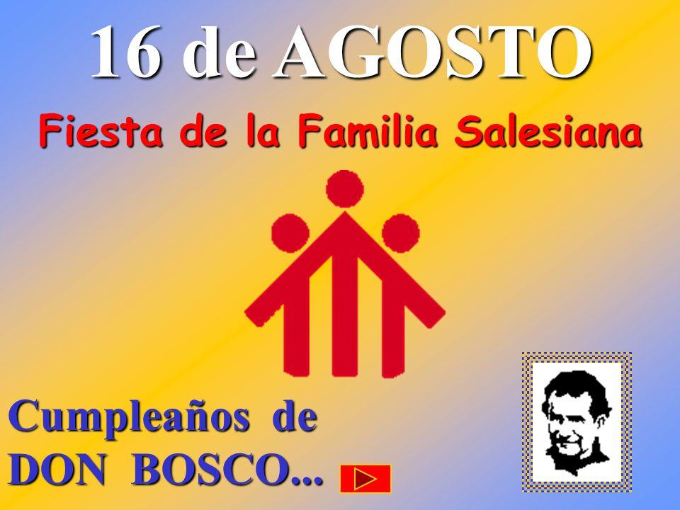 Fiesta de la Familia Salesiana