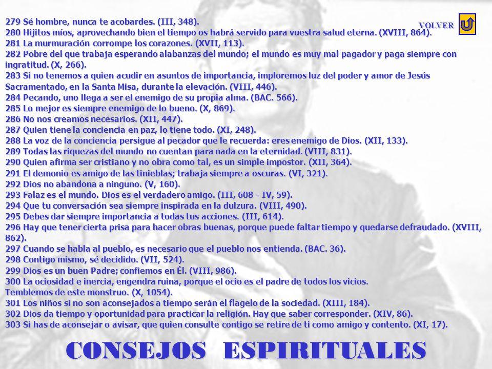 CONSEJOS ESPIRITUALES
