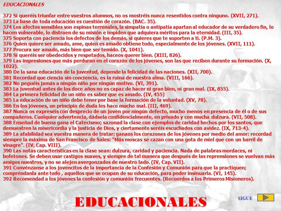 EDUCACIONALES EDUCACIONALES