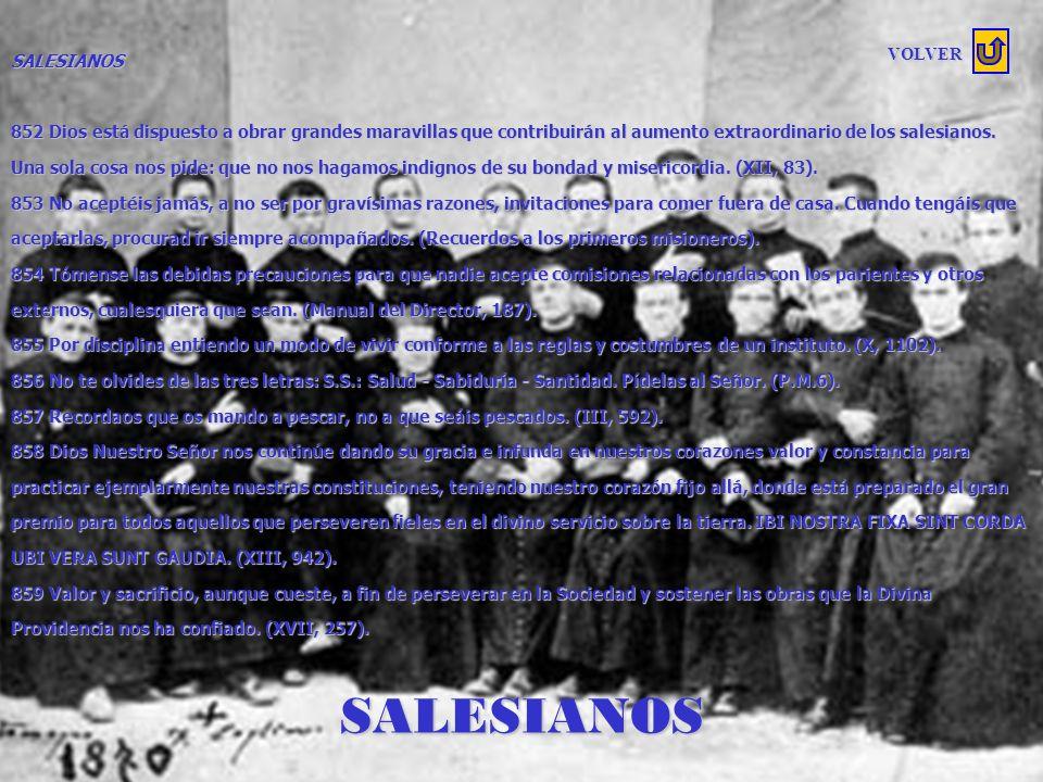 SALESIANOS SALESIANOS VOLVER