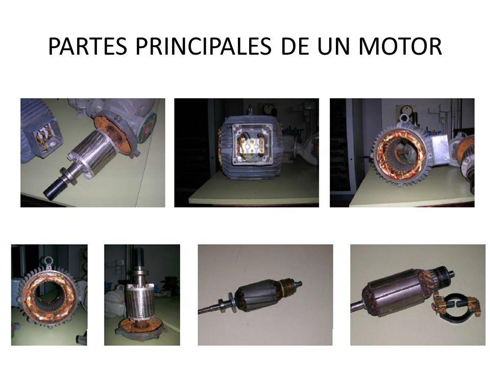PARTES PRINCIPALES DE UN MOTOR