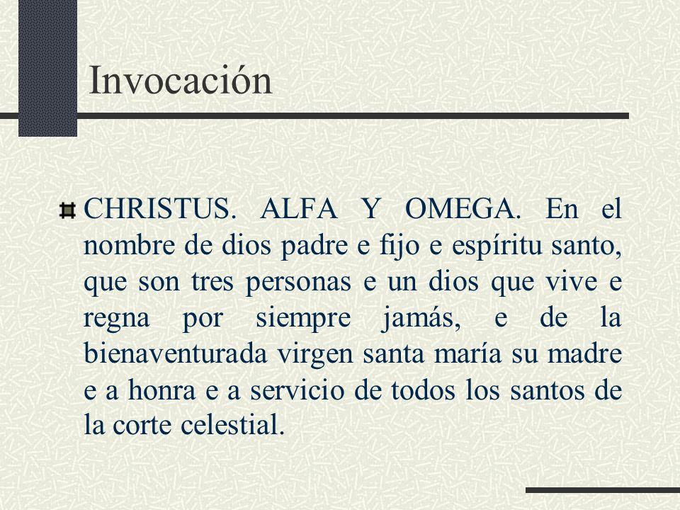 Invocación