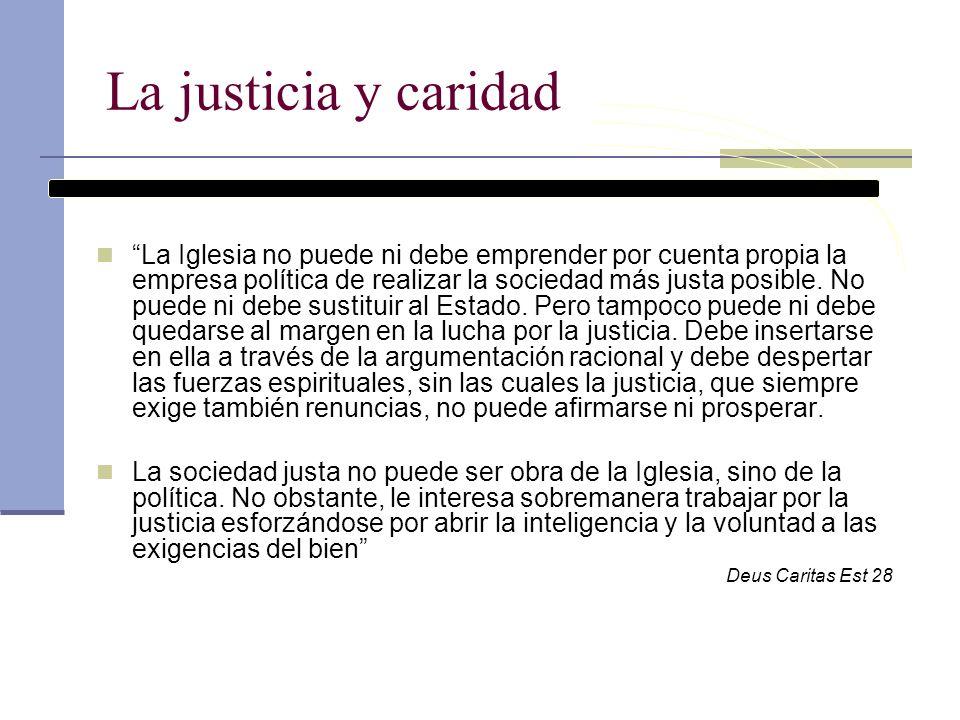 La justicia y caridad